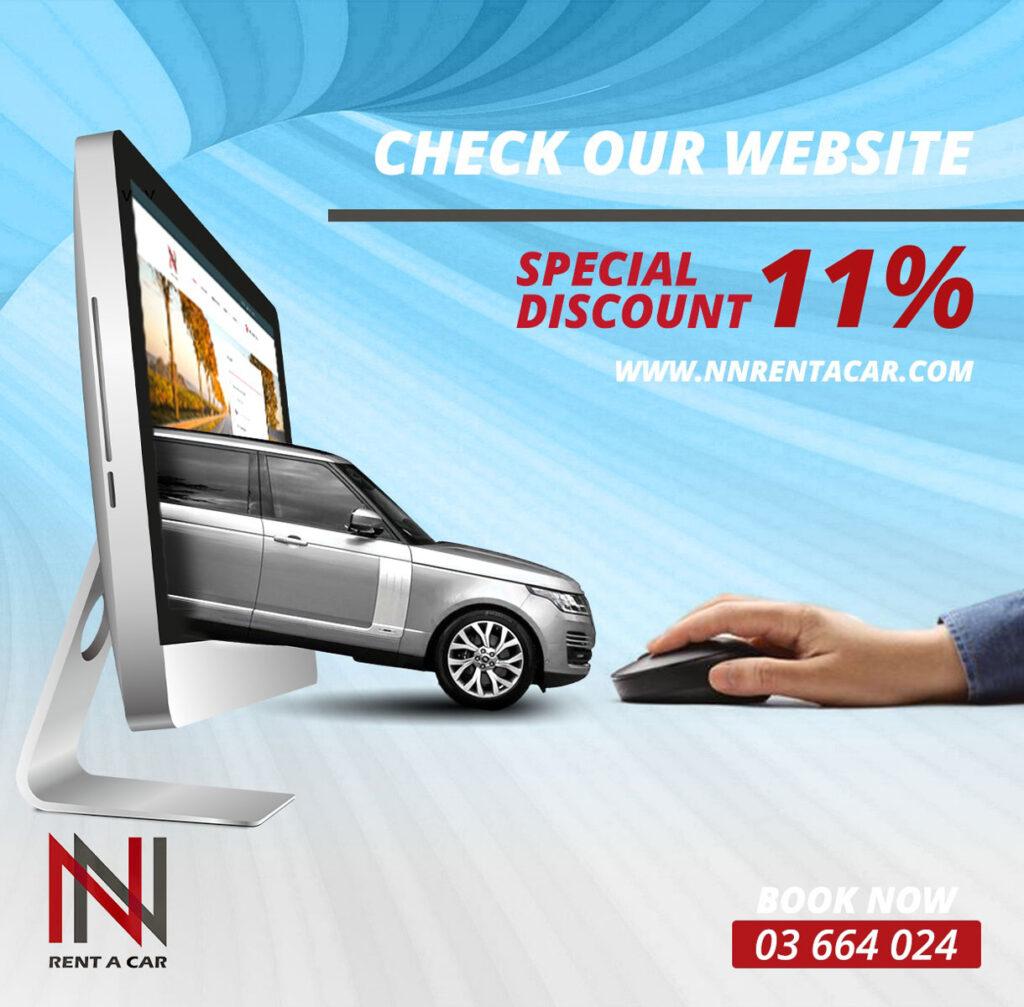 NN Rent a car offer
